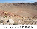 Meteor Crater Near Winslow In...