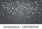 snow falling winter snowflakes...   Shutterstock .eps vector #1505282444