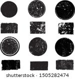 big collection of grunge post... | Shutterstock .eps vector #1505282474