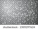 falling christmas shining... | Shutterstock .eps vector #1505297624
