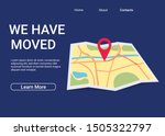 we have moved new office icon... | Shutterstock .eps vector #1505322797