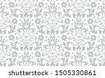 floral pattern. vintage... | Shutterstock .eps vector #1505330861