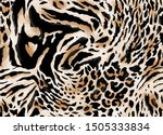 Seamless Animal Print  Leopard  ...