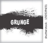 grunge background  | Shutterstock .eps vector #150539651
