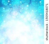 beautiful blurred blue...   Shutterstock .eps vector #1505418071