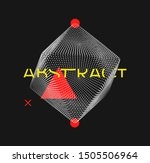 crystal consisting of small... | Shutterstock .eps vector #1505506964