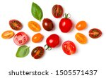 Various Colorful Tomatoes And...