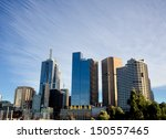 Melbourne Skyline With...