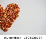 Seed Mixture Background  Food...