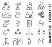 business  human resources ... | Shutterstock .eps vector #1505666414