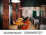 Stock photo modern interior cafeteria during day 1505695727