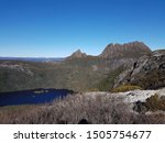 cradle mountain with a sunny... | Shutterstock . vector #1505754677