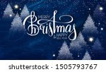 merry christmas and happy new...   Shutterstock .eps vector #1505793767