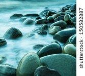 Long Exposure Of Sea And Rocks...