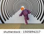 A Man In A Clown Costume...