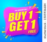 sale banner modern blue.buy 1...   Shutterstock .eps vector #1505936684