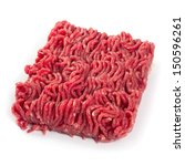 photo of fresh ground beef on... | Shutterstock . vector #150596261