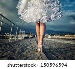 Wedding The Bride's Legs