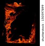 Burning Fire Frame