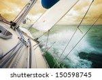 Sailing Fast On Port Tacks Wit...