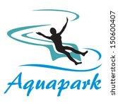 aquapark symbol | Shutterstock .eps vector #150600407
