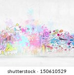 Background Sketch Image With...