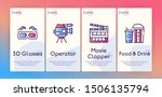 cinema production color icons... | Shutterstock .eps vector #1506135794