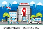 patient care concept. vector of ... | Shutterstock .eps vector #1506157457