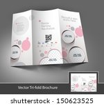 beauty care   salon tri fold... | Shutterstock .eps vector #150623525