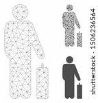 mesh passenger model with... | Shutterstock .eps vector #1506236564
