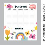Vector Weekly Planner With...