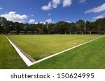 green bowls or lawn bowls... | Shutterstock . vector #150624995