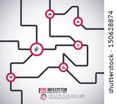 pipe system | Shutterstock .eps vector #150628874