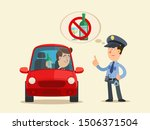 drunk driver. drunk driving is... | Shutterstock .eps vector #1506371504