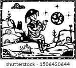 cordel sinder. classic... | Shutterstock .eps vector #1506420644