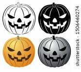 isolated illustration of a...   Shutterstock .eps vector #1506460274
