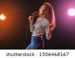 beautiful african american... | Shutterstock . vector #1506468167