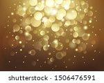 vector defocused bokeh lights....   Shutterstock .eps vector #1506476591