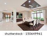 modern dining room  | Shutterstock . vector #150649961