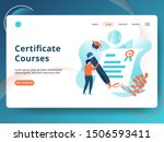 landing page certificate...