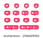 vector social media icons. like ...