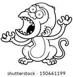 vector illustration of cartoon... | Shutterstock .eps vector #150661199