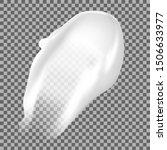 cream smear. cosmetic texture... | Shutterstock .eps vector #1506633977