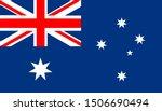 the national flag of australia.   Shutterstock .eps vector #1506690494