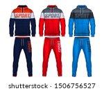 sport track suit design... | Shutterstock .eps vector #1506756527