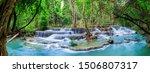 Huai Mae Khamin Waterfall Level ...