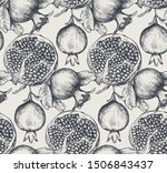 vector seamless pattern with... | Shutterstock .eps vector #1506843437