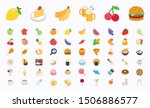 food and beverages vector... | Shutterstock .eps vector #1506886577