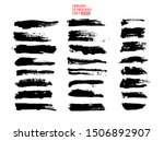 big vector set hand drawn... | Shutterstock .eps vector #1506892907