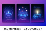 happy diwali posters template... | Shutterstock .eps vector #1506935387